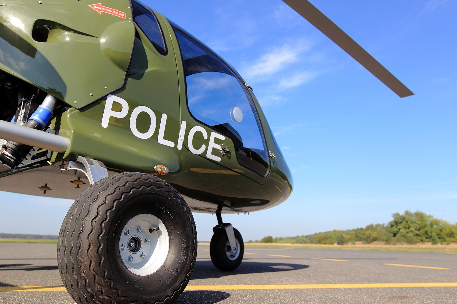 Taurus biggest 3 seater gyroplane, gyrocopter as