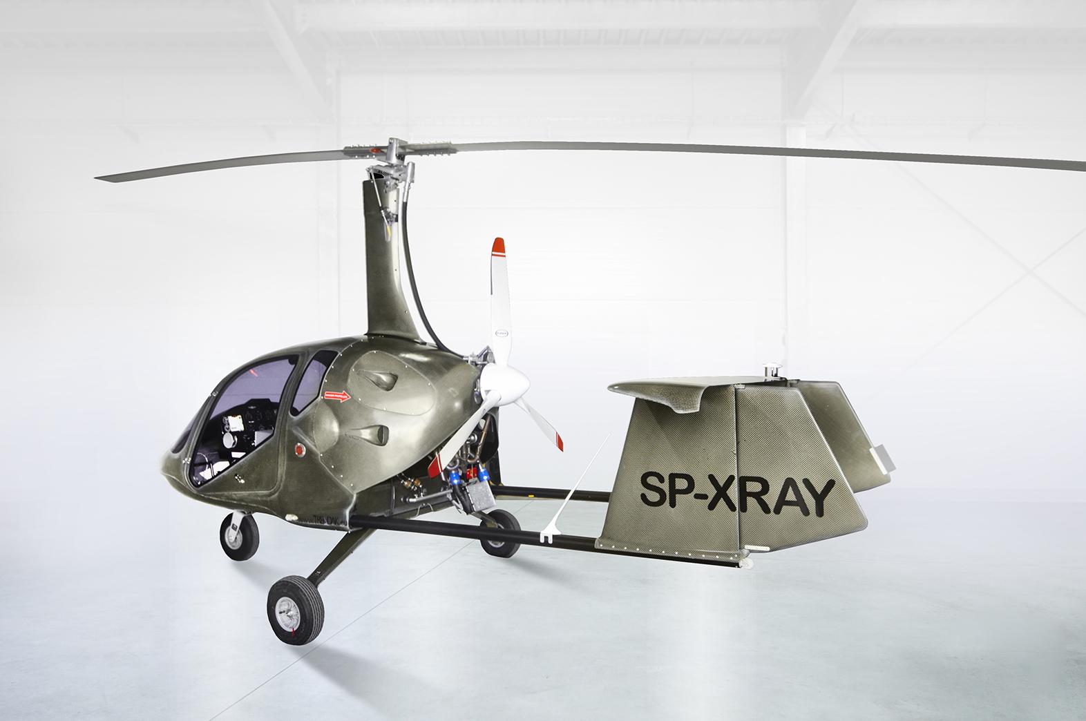 Taurus biggest 3 seater gyroplane, gyrocopter as multipurpose machine